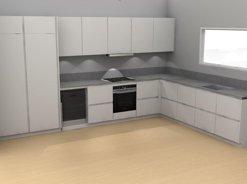 Kitchen Kvik Tinta white
